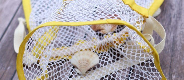 Summer Bag Sewing Pattern: Seashell Bag