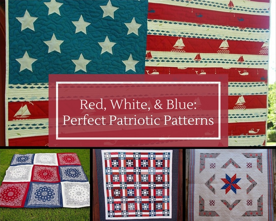 Red, White, and Blue: Perfect Patriotic Patterns