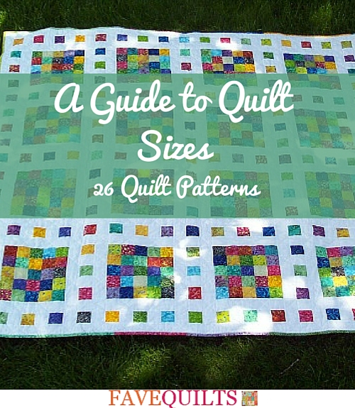 A Guide to Quilt Sizes
