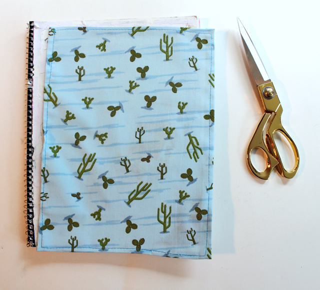 diy fabric notebook cover (5)