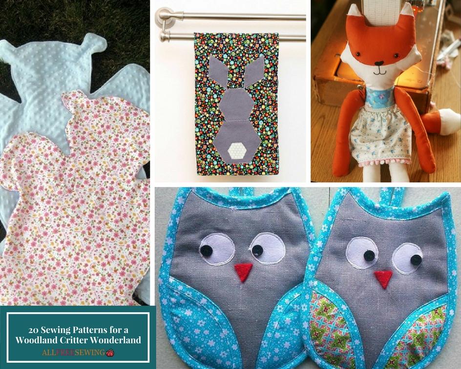 20 Sewing Patterns