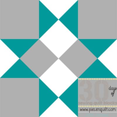 Midnight Kaleidoscope Block