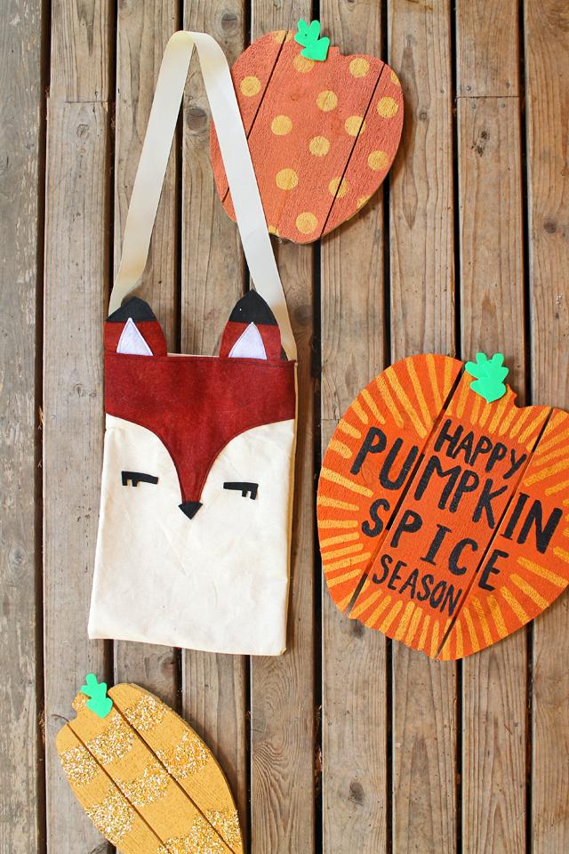 DIY Fox Tote by Katie Smith for Seams & Scissors