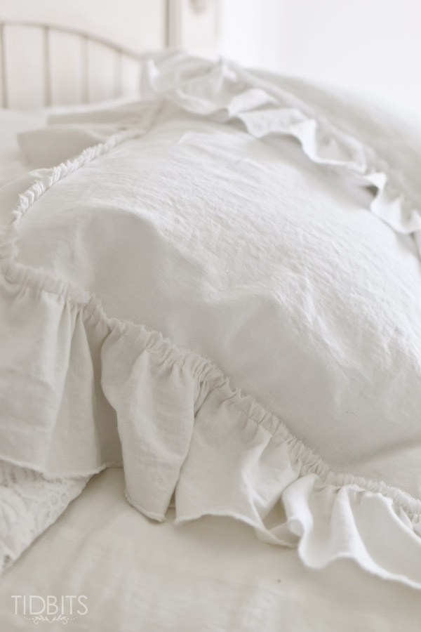 2 Yard Ruffle Pillow Shams