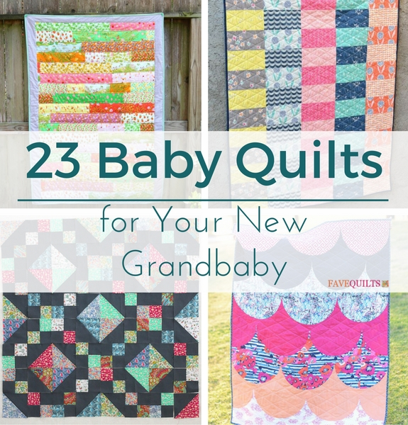 23 Baby Quilts For Your New Grandbaby Seams And Scissors