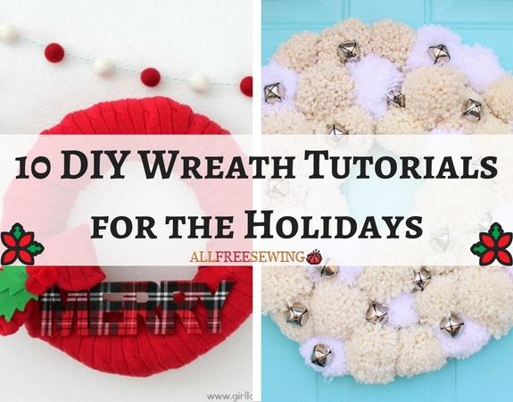 10 DIY Wreath Tutorials for the Holidays