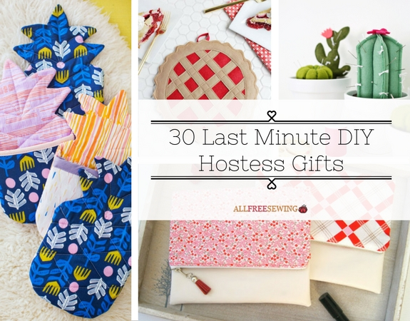 30 Last Minute DIY Hostess Gifts