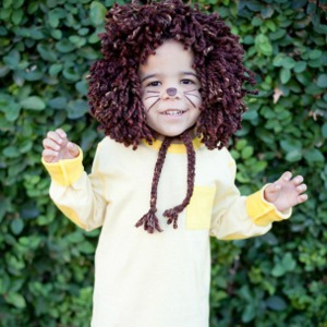 Little Lion Man Easy Halloween Costume