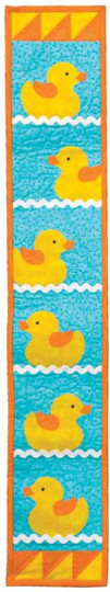 Rubber Duckie Wall Quilt