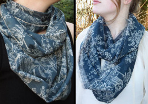 Insanely Easy Silk Infinity Scarf