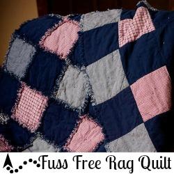 Fuss Free Rag Quilt
