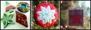 No Sew Christmas Ornaments