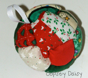Patchwork Ornament