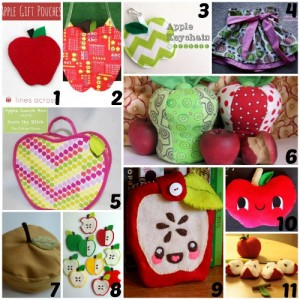 All About Apples: 11 Sewing Projects for Autumn