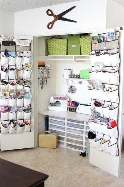 Small Space Craft Room Idea