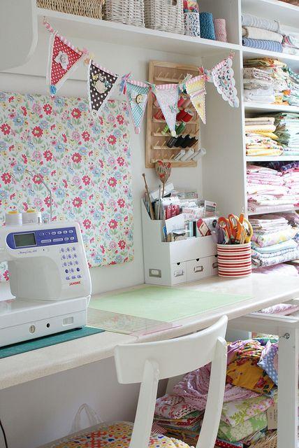 Fabric Hoarders Craft Room Ideas