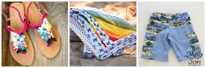 24 Summer Beach Essentials: How to Make a Swimsuit, Beach Blanket, and More