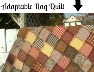 Adaptable Rag Quilt
