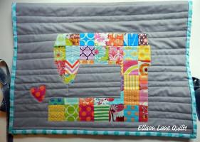 Love to Sew Machine Cover