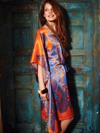 Silk Caftan from BurdaStyle
