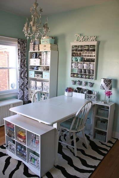 Funky Craft Room Ideas