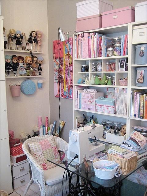 Clutter Bug Craft Room Ideas
