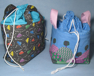 DIY Drawstring Basket