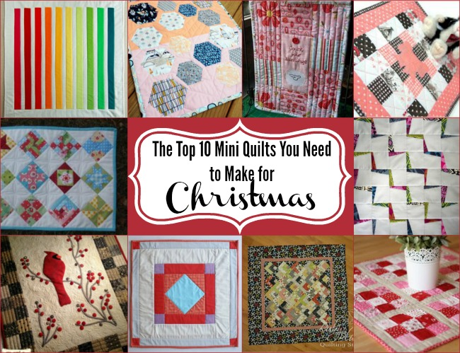 Mini Quilts and Doll Quilts