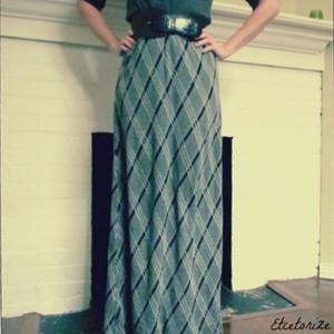 Ageless DIY Maxi Skirt