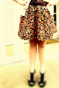 Pretty Pockets Gathered Skirt Tutorial