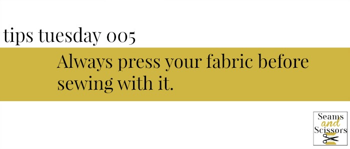 Sewing Tips and Tricks Tuesday