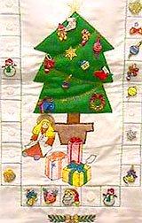 Advent Calendar and Christmas Card Holder