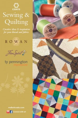 How to Quilt like a Designer: Coats & Clark Sewing and Quilting Inspiration