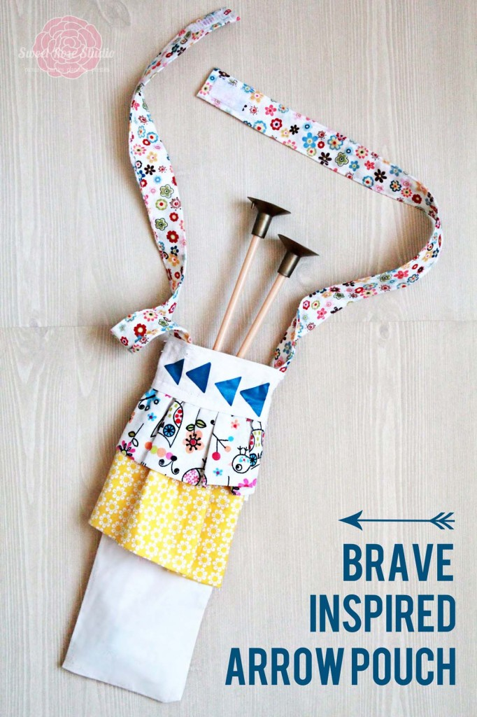 Brave Inspired Arrow Pouch