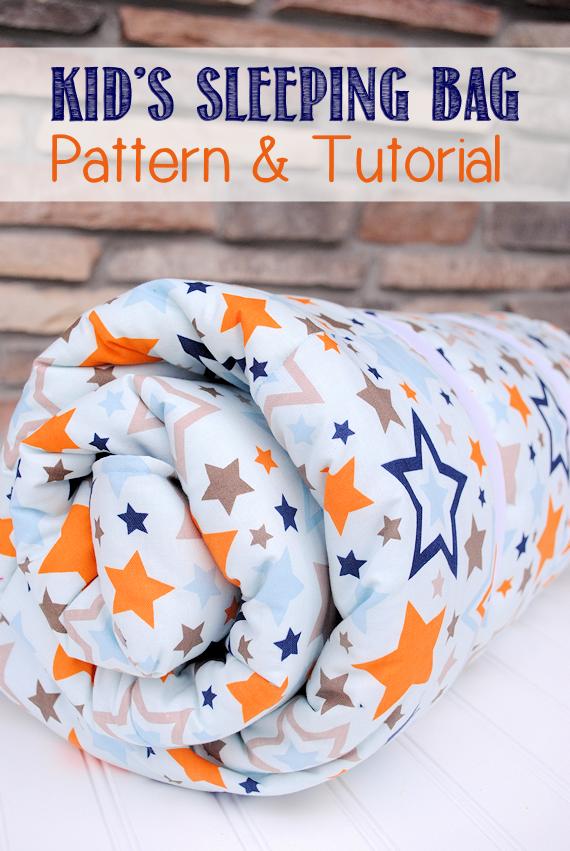 Kid Sleeping Bag Pattern & Tutorial