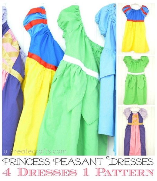 DIY Princess Peasant Dresses