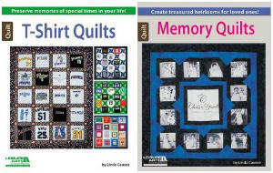 T-Shirt Quilts and Memory Quilts from Leisure Arts
