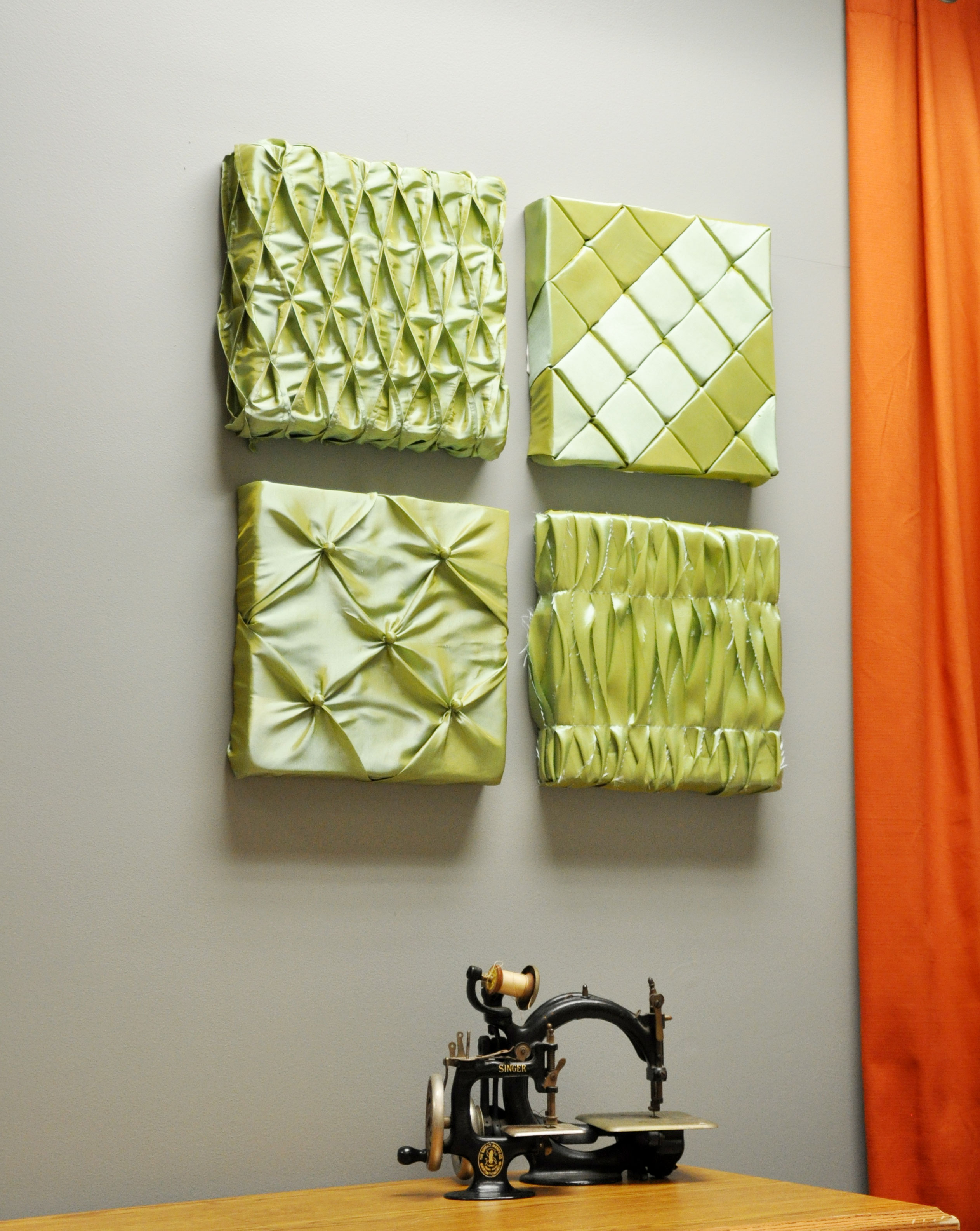 Easy Fabric Wall Art from Fairfield: National Sewing Month Project ...