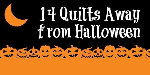 Halloween Quilting