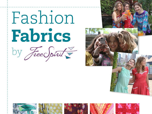 How to Make Your Own Clothes: Fashion Fabrics by Free Spirit