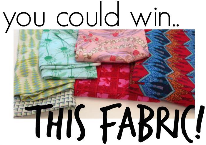 Win Fashion Fabric from FreeSpirit!