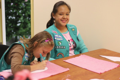 Sewing with the Scouts: Hands-on-Heart Pillow-Making Party!