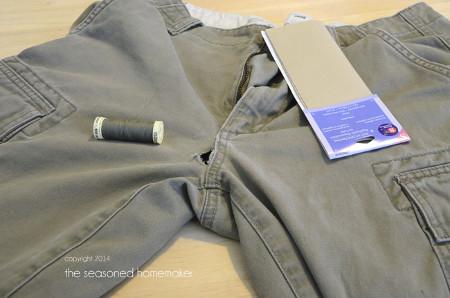 Mending Holes in Jeans from The Seasoned Homemaker
