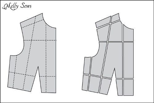 How to Make a Sewing Pattern Bigger (or smaller) – Pattern Grading
