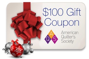$100 Gift Coupon to AQS