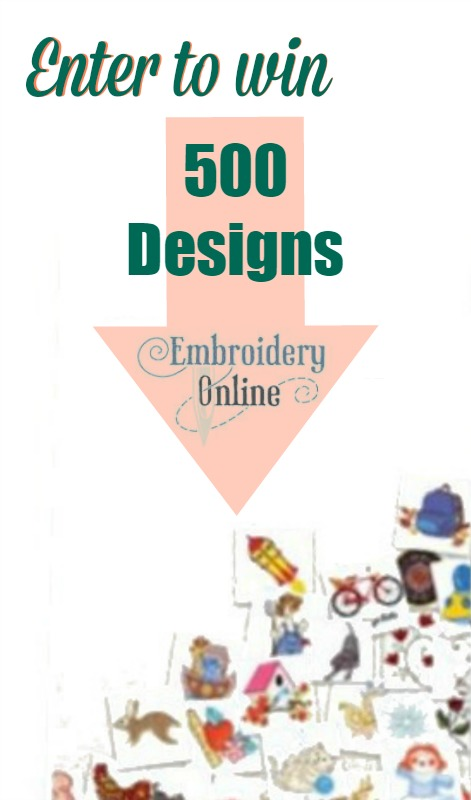500 Designs CD Collection from EmbroideryOnline.com