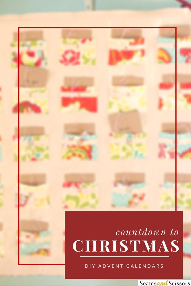 countdown to christmas 9 sewn advent calendar ideas. Black Bedroom Furniture Sets. Home Design Ideas