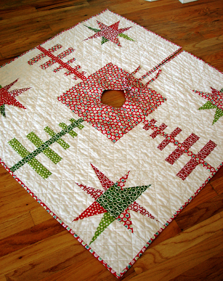 The Best Quilted Tree Skirts 15 Christmas Quilt Patterns