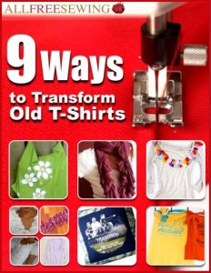 9 Ways to Transform Old T-Shirts