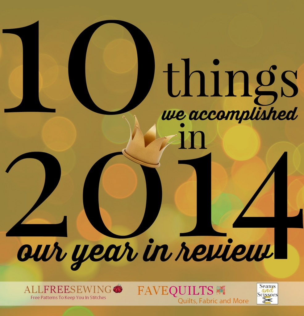 10 Things We Accomplished in 2014